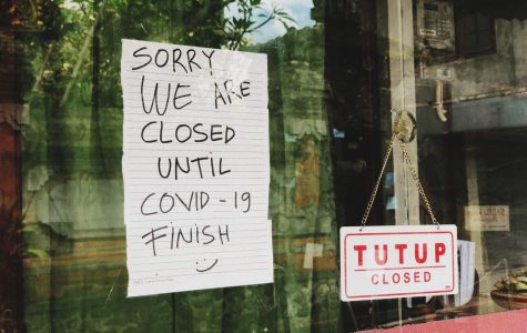 A local Restaurant is forced to close its doors due to Covid-19.