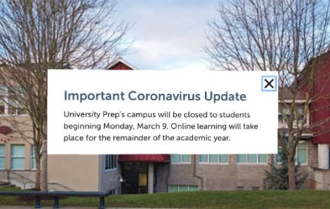 UPrep's campus will remain closed for the rest of the school year.