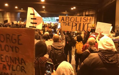 Thousands of people marched down the streets of Seattle to protest police brutality against black people.