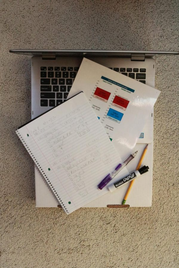UPrep students have found trouble accustoming themselves to the lengthened online schedule.