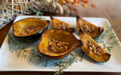 Roasted Squash with Pecans