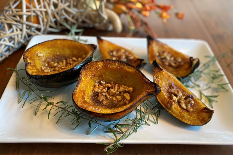 Roasted+Squash+with+Pecans