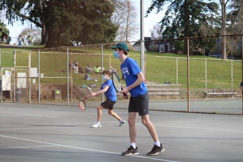 Varsity Tennis Dominates