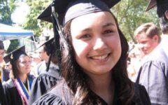 Alana at Whitman Graduation
